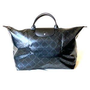 *RARE* Black Longchamp Travel Bag XL